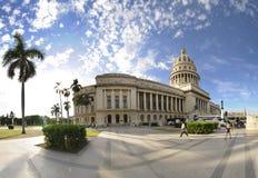 大厦国会大厦哈瓦那 库存照片
