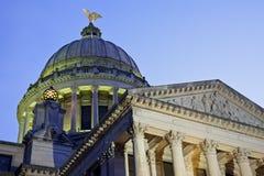 大厦国会大厦圆顶杰克逊状态 免版税库存照片