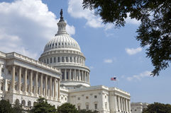 大厦国会大厦我们 免版税库存图片