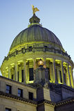 大厦国会大厦杰克逊密西西比状态 免版税库存图片