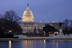 大厦国会大厦纪念碑 免版税库存照片
