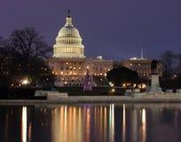 大厦国会大厦纪念碑 免版税图库摄影
