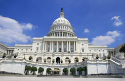 大厦国会大厦dc华盛顿 库存照片