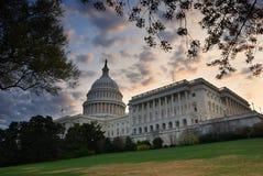 大厦国会大厦dc小山华盛顿 免版税库存图片