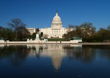 大厦国会大厦dc 免版税库存图片