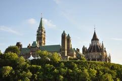 大厦图书馆渥太华议会 库存图片