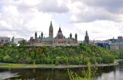 大厦图书馆渥太华议会 库存照片