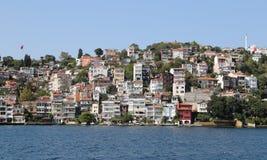 大厦在伊斯坦布尔市,土耳其 免版税库存图片