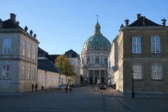 大厦在哥本哈根 图库摄影