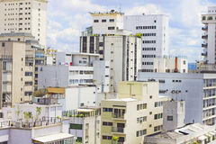 大厦在圣保罗,巴西 库存照片