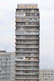 大厦在圣彼得堡的郊区 免版税库存照片
