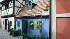 大厦在布拉格 免版税库存图片