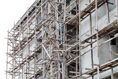 大厦在建筑 免版税库存图片