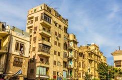 大厦在开罗伊斯兰教的区  免版税库存图片