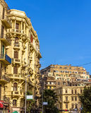 大厦在开罗的市中心 库存照片
