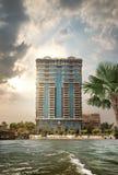 大厦在开罗 免版税库存图片