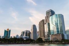 大厦在曼谷的中心 免版税库存图片