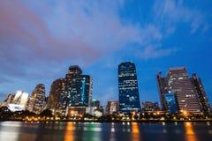 大厦在曼谷的中心 免版税图库摄影