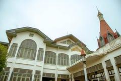 大厦在泰国的Phaya泰国宫殿 免版税图库摄影