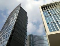 大厦在现代城市 库存照片