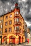 大厦在科布伦茨的市中心 免版税库存图片
