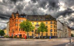 大厦在科布伦茨-德国 库存照片