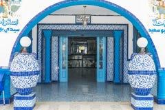 大厦在突尼斯 免版税库存照片