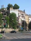 大厦在米兰 免版税库存图片