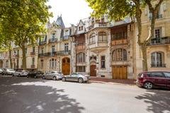 大厦在维琪市,法国 免版税图库摄影