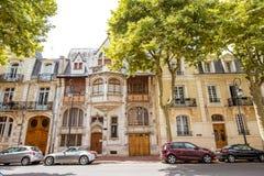 大厦在维琪市,法国 库存图片