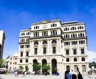 大厦在老哈瓦那,古巴 库存图片