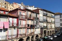 大厦在老镇波尔图,葡萄牙 免版税库存照片
