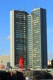 大厦在莫斯科 库存图片