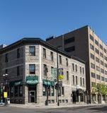 大厦在蒙特利尔,加拿大 免版税库存图片