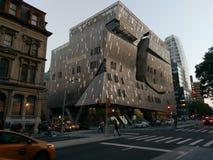 大厦在街市曼哈顿,纽约 库存照片
