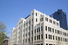 大厦在街市沃思堡 免版税库存照片