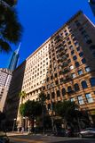 大厦在街市洛杉矶 美国 免版税图库摄影