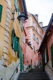 大厦在街市锡比乌 免版税库存图片