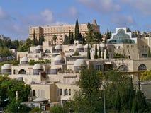 大厦在西部耶路撒冷 免版税图库摄影