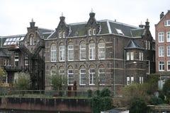 大厦在阿姆斯特丹 免版税库存图片