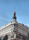 大厦在马德里 免版税图库摄影
