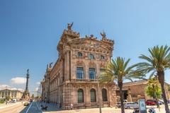 大厦在巴塞罗那西班牙 库存照片