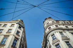 大厦在贝尔格莱德 免版税图库摄影