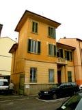 大厦在费拉拉,意大利 免版税图库摄影