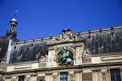 大厦在巴黎,法国 图库摄影