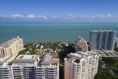 大厦在Key Biscayne佛罗里达 库存图片