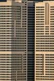 大厦地区住宅的莫斯科 免版税库存照片