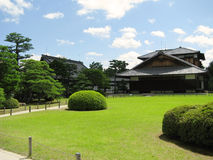 大厦城堡庭院京都nijo 库存照片