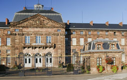 大厦城堡法国博物馆 免版税库存照片