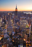 大厦城市帝国曼哈顿新的状态约克 免版税库存图片
